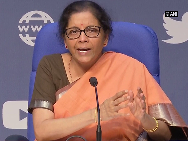 Finance Minister Nirmala Sitharaman in New Delhi on Thursday