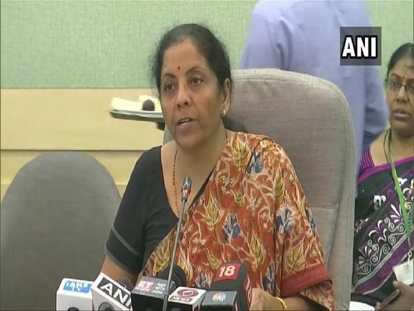 Finance Minister Nirmala Sitharaman in New Delhi on Thursday