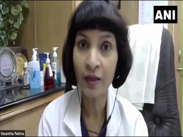 Dr MV Padma Srivastava, Head, Department of Neurology, AIIMS Delhi, speaking to ANI on Wednesday.
