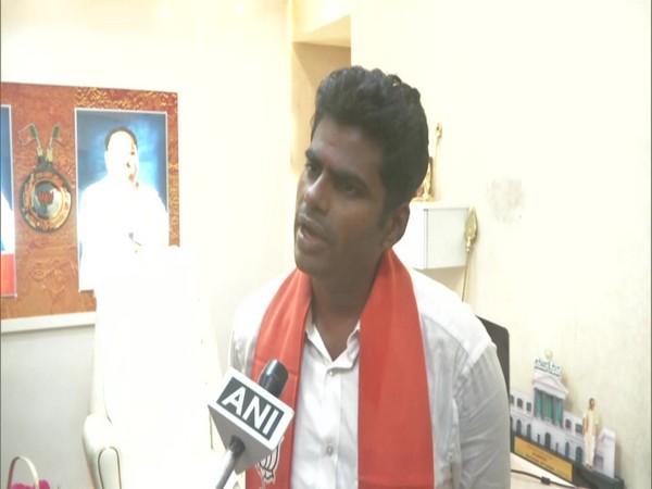 K. Annamalai, Tamil Nadu BJP chief. (Photos/ANI)