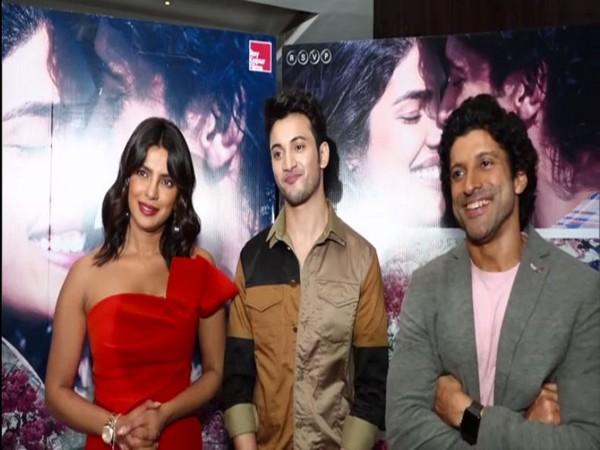 Priyanka Chopra, Rohit Saraf and Farhan Akhtar