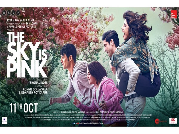 Poster of 'The Sky Is Pink', Image courtesy: Instagram