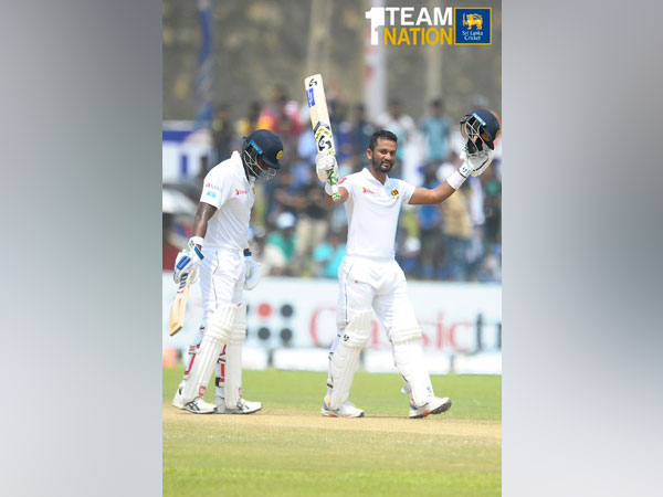 Sri Lanka won the first Test of the two-match series against New Zealand by six wickets. (Photo/Sri Lanka Cricket Twitter)