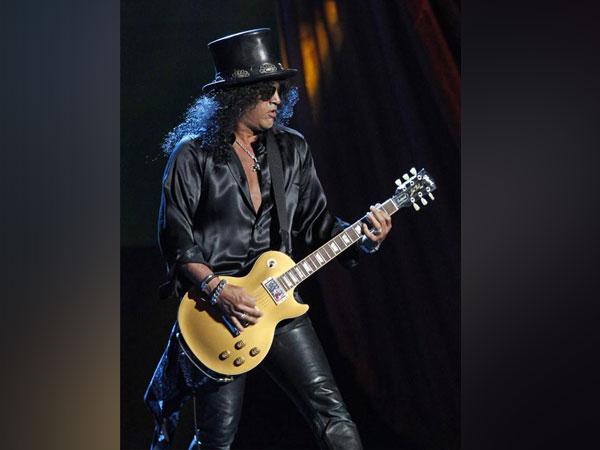 Guns N' Roses guitarist Slash