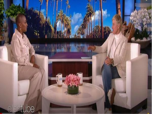 Tiffany Haddish and Ellen DeGeneres (Image courtesy: Youtube)