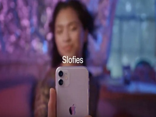 A still from Apple's commercial