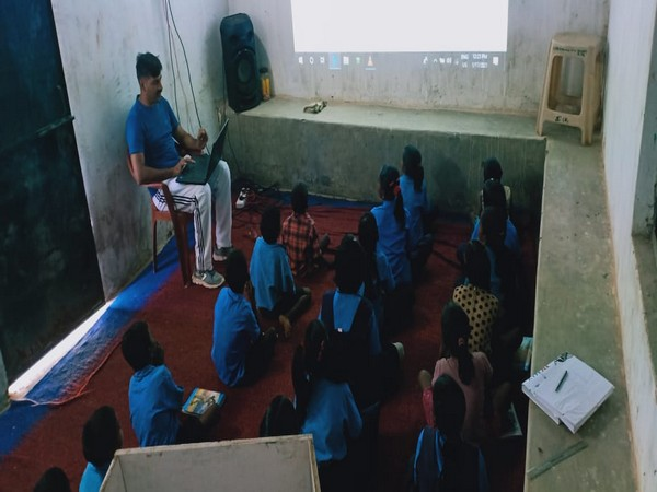 ITBP has taken an initiative to organise smart classes for local school students in Chhattisgarh.