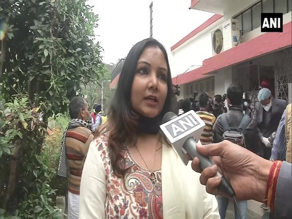 RJD party spokesperson Smita Lakra speaking to ANI in Ranchi on Friday. (Photo/ANI)