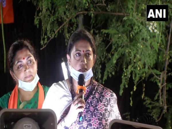 Union Minister of Women and Child Development Smriti Irani. (Photo/ANI)
