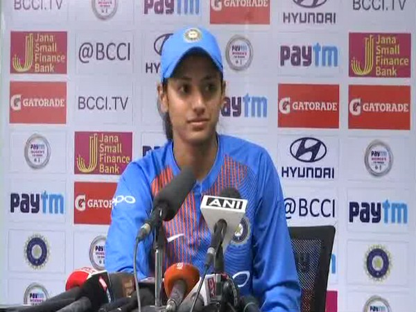 India stand-in captain Smriti Mandhana (ANI picture)