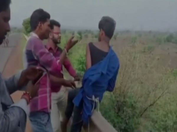 A video shows three men beating up a cattle smuggler in Katni district of Madhya Pradesh.