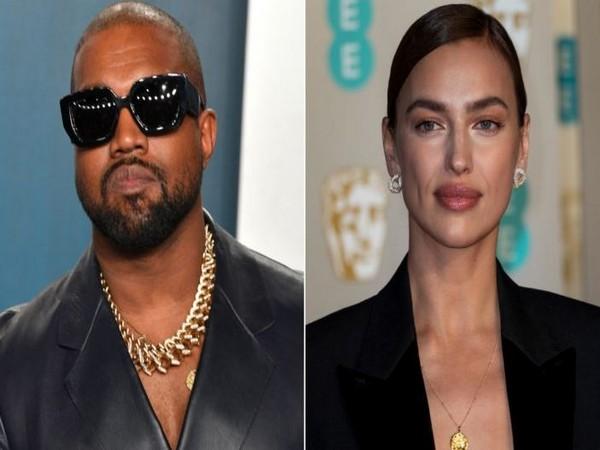 Kanye West, Irina Shayk (Image Source: Instagram)