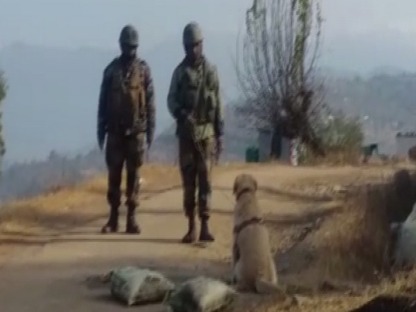 Jammu and Kashmir: Indian Army's bomb disposal squad neutralized an IED in a controlled explosion in Mendhar area of Poonch district today. (Photo/ANI)