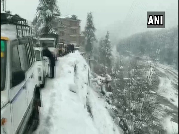 Manali in Himachal Pradesh on Wednesday.