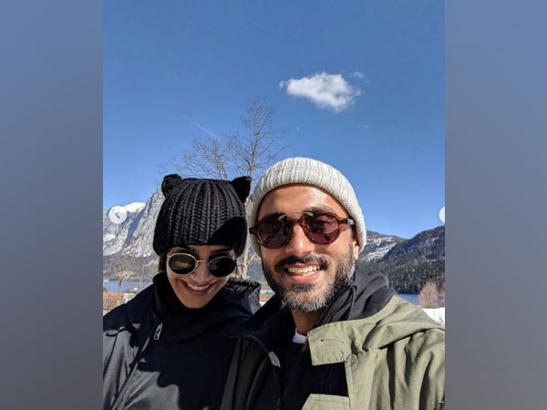 Sonam Kapoor and Anand Ahuja (Image courtesy: Instagram)
