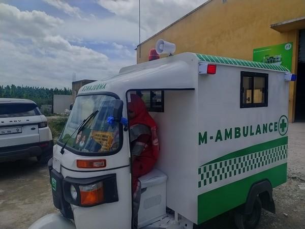 An M-ambulance unveiled by Tamil Nadu Chief Minister Edappadi K Palanisamy on Monday.
