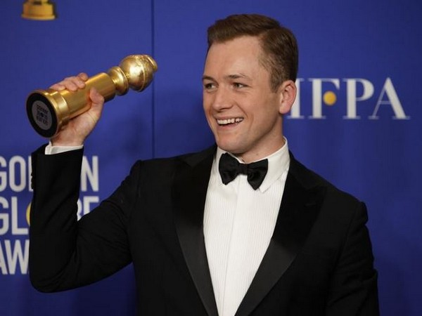 Taron Egerton wins best actor award in a motion picture-musical or comedy for 'Rocketman'