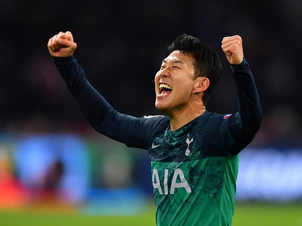 Tottenham Hotspur striker Heung-Min Son (Photo/ Tottenham Hotspur Twitter)