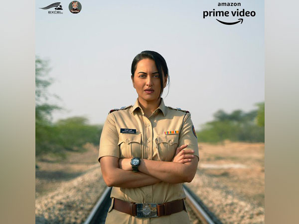 First look of Sonakshi Sinha from untitled Amazon Prime series (Image Source: Twitter)