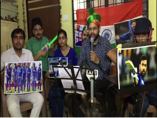 Kanpur's local band dedicates song to Men in Blue