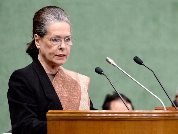 UPA chairperson Sonia Gandhi [File Photo/ANI]