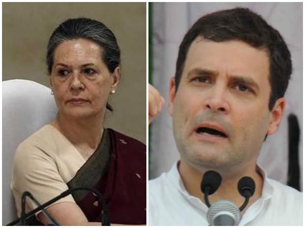 Sonia Gandhi (Left) and Rahul Gandhi (Right)