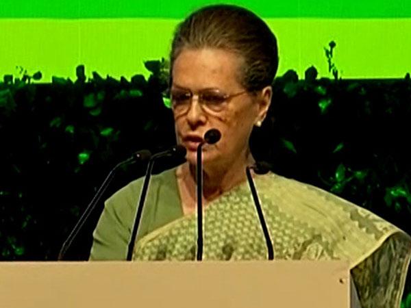 Congress President Sonia Gandhi. File photo