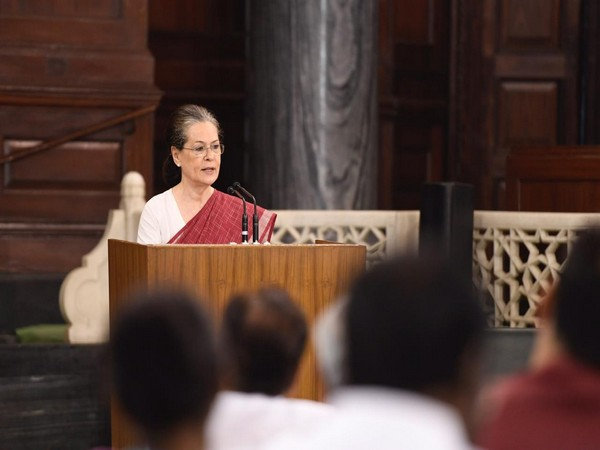 United Progressive Alliance Chairperson Sonia Gandhi. (FilePhoto/ANI)