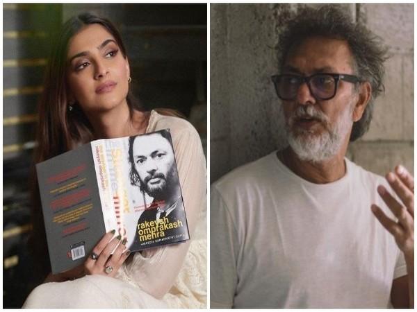 Sonam Kapoor and Rakeysh Omprakash Mehra (Image source: Instagram)