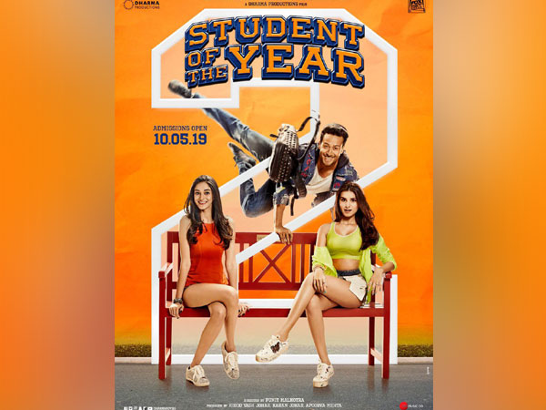 'Student Of The Year 2' poster, Image courtesy: Instagram