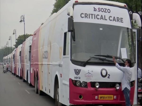 Mobile Medical Units, b SOZO Bus (Photo/ANI)