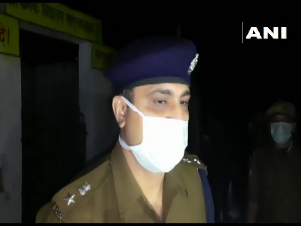 Banda SP Siddharth Shankar Meena speaks to media on Friday. (Photo/ANI)