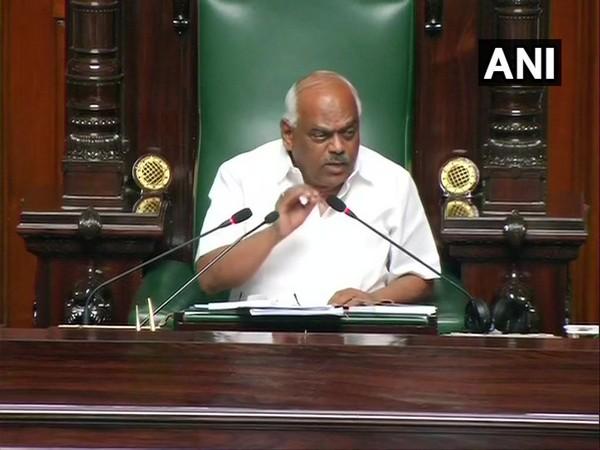 Karnataka Speaker KR Ramesh Kumar speaking in Assembly on Thursday.