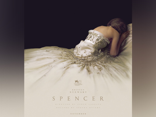 Poster of Kristen Stewart's 'Spencer' (Image source: Instagram)