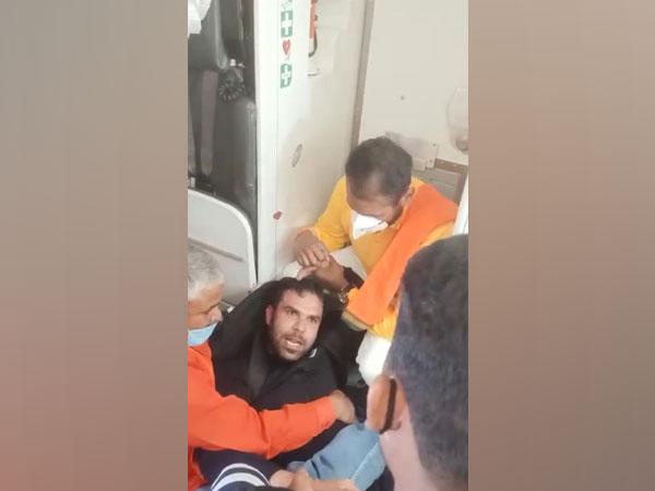 The passenger has been identified as Gaurav.