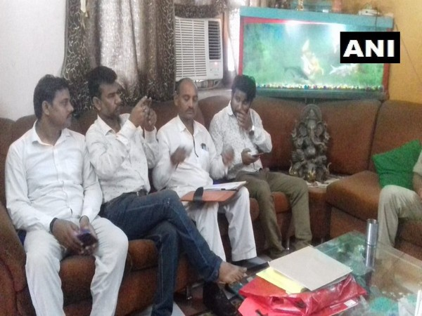SP leaders under preventive detention at Kanpur on Monday