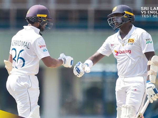 Sri Lanka Dinesh Chadimal and Angelo Mathews (Image: Sri Lanka Cricket)