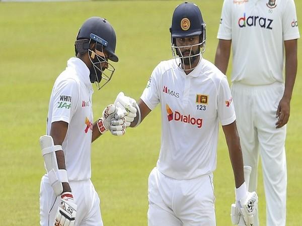 Lahiru Thirimanne and Dimuth Karunaratne (Image: ICC)