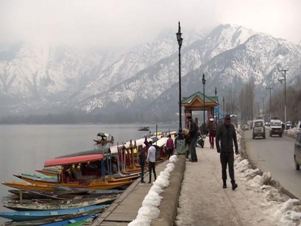Visuals of Dal Lake (ANI)