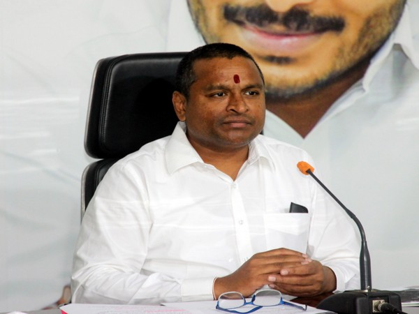Andhra Pradesh Minister  Endowments  Vellampalli Srinivas (File Photo: ANI)
