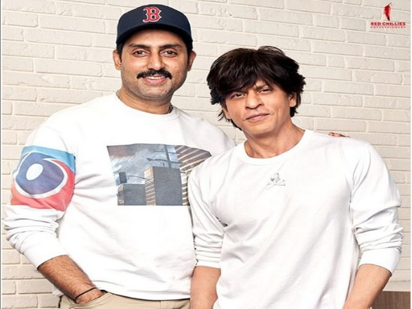 Abhishek Bachchan and Shah Rukh Khan (Image courtesy: Instagram)