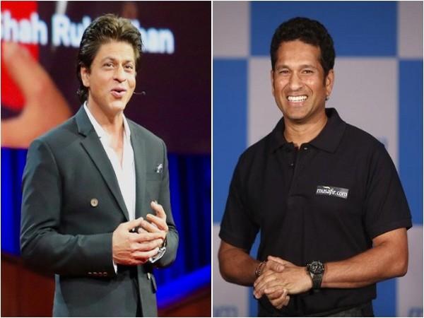 Shah Rukh Khan and Sachin Tendulkar