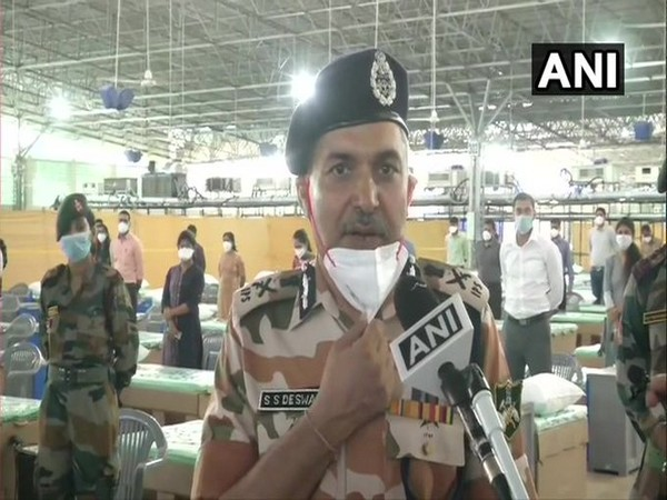 SS Deswal, DG, Indo-Tibetan Border Police (ITBP) speaking to ANI in New Delhi on Sunday. (Photo/ANI)