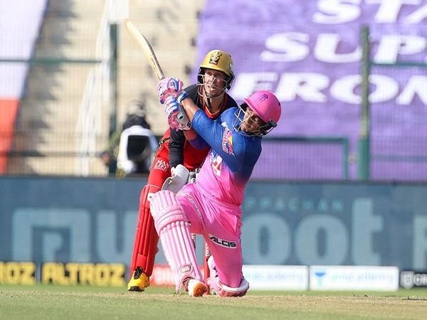 RR batsman Mahipal Lomror (Image: BCCI/IPL)