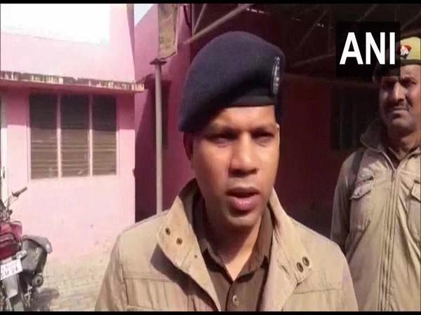 SSP Prabhakar Chaudhary speaking to ANI in Varanasi on Monday.