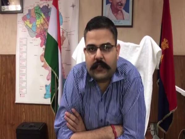 Senior Superintendent of Police, Vaibhav Krishna. Photo/ANI