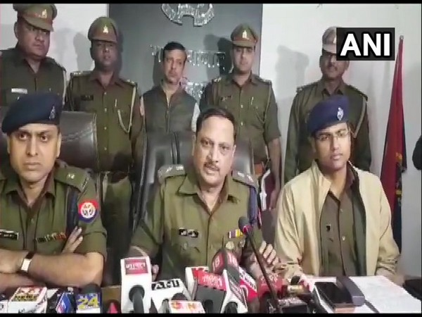 Sudhir Kumar Singh, SSP, Ghaziabad at press conference in Ghaziabad on Wednesday