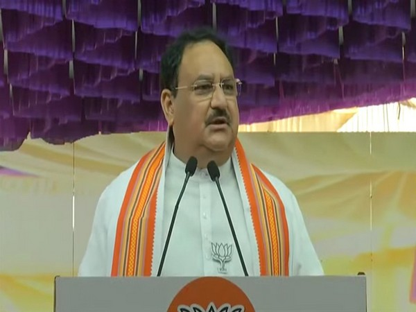 Bharatiya Janata Party national chief, Jagat Prakash Nadda (Photo/ANI)