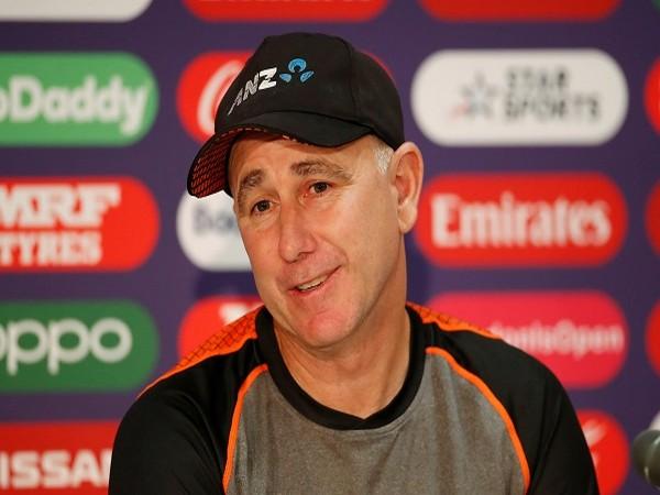 New Zealand men's coach Gary Stead