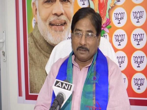 BJP leader Jagannath Sarkar. (Photo/ANI)